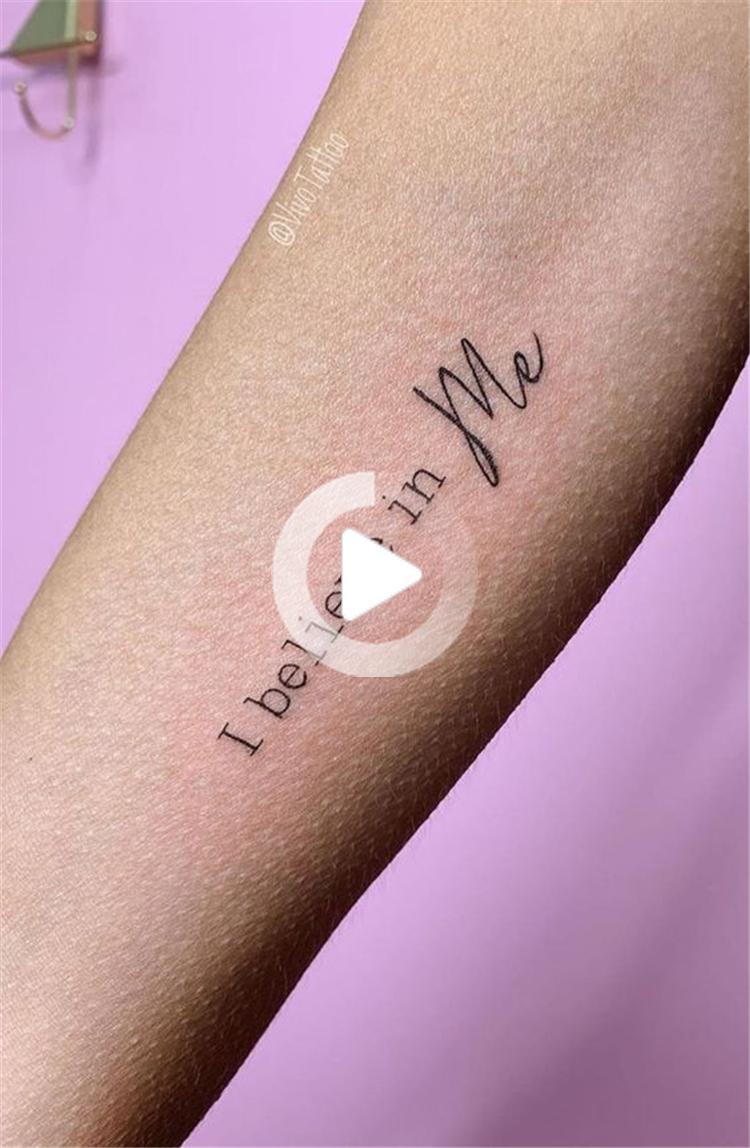 20 petits mots Mais Meaningful et Citations Tattoo Designs Vous ...