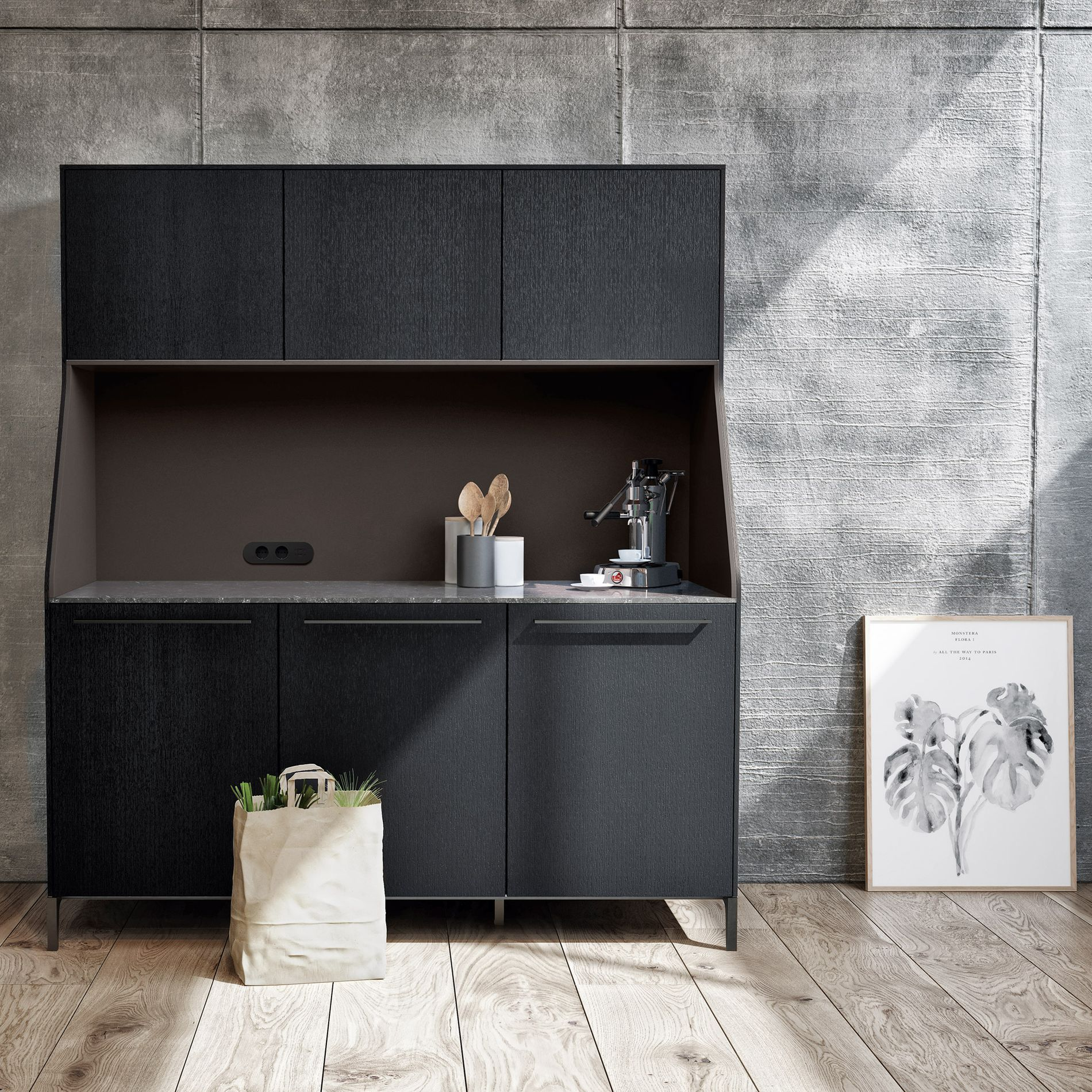 Jjo Urban Kitchen Modern Fitted Kitchens: Kitchen Of The Week: A Kitchen Modeled After A Sideboard