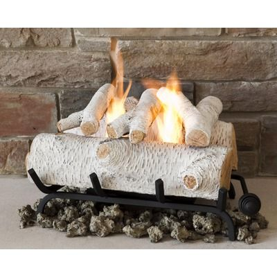 Birch gel fuel fireplace logs. clean and no mess | Gas ...