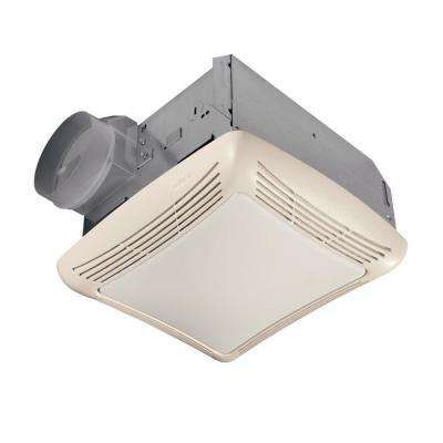 50 CFM Ceiling Exhaust Bath Fan with Light | Bathroom fan ...