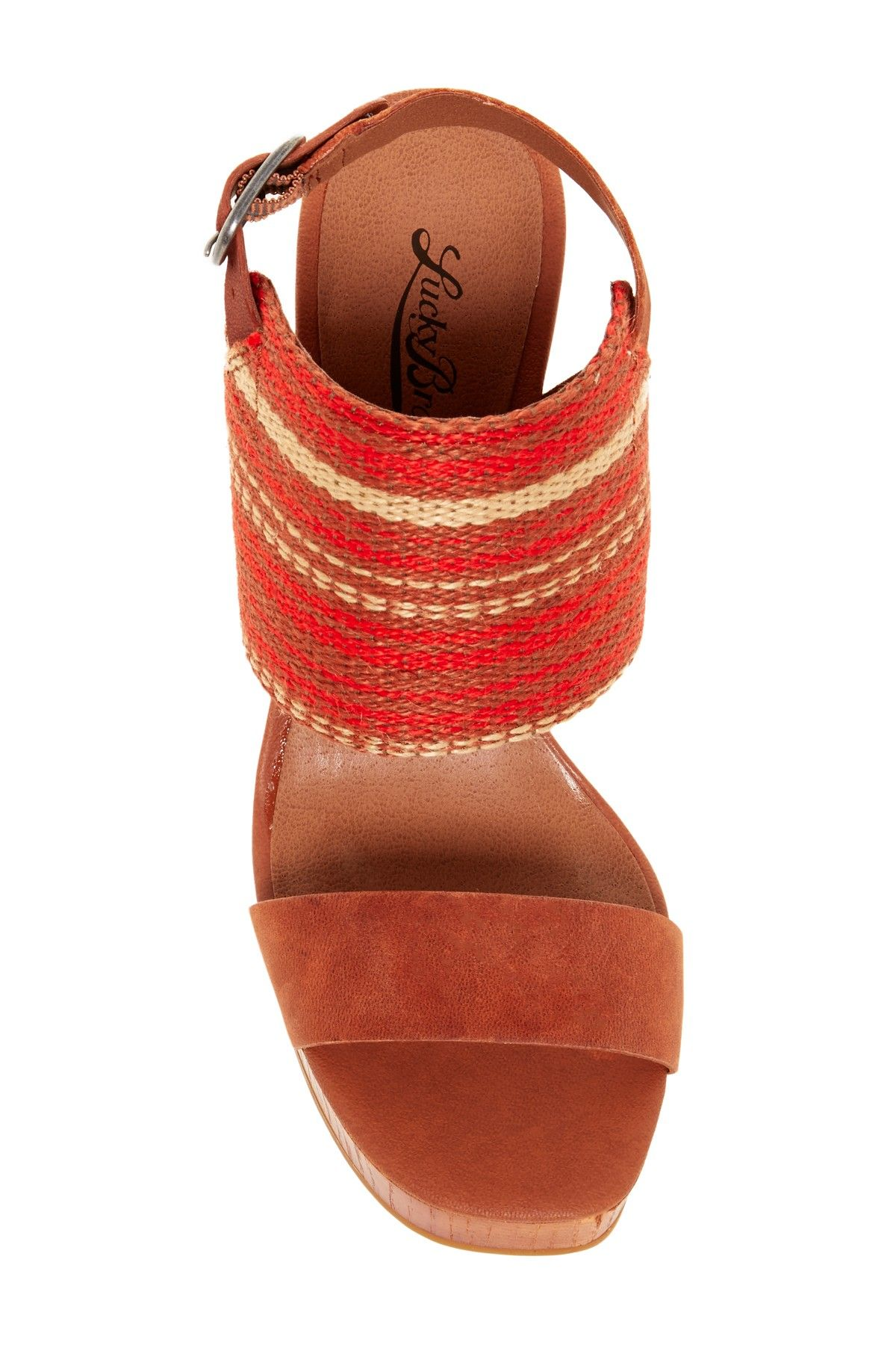 LaPaloma Platform Wedge Sandal by Lucky Brand on @nordstrom_rack
