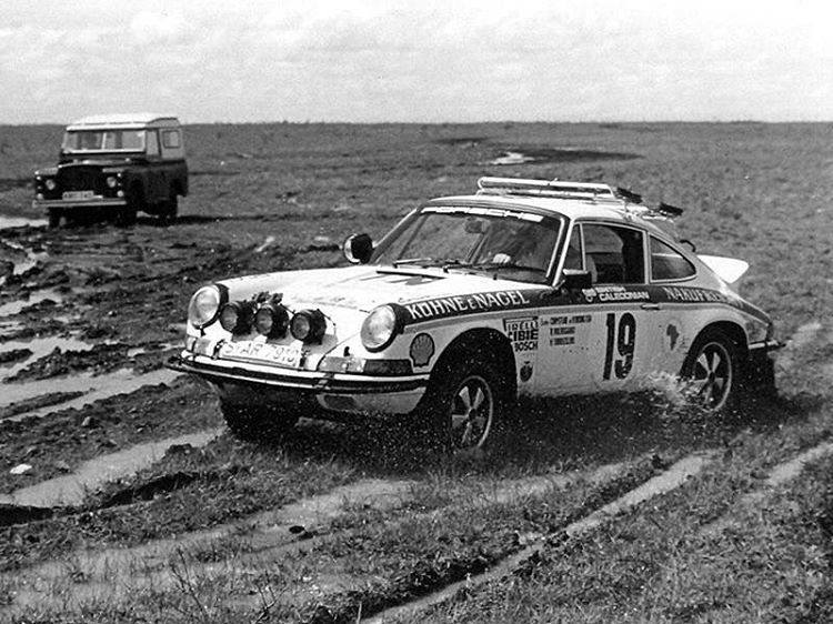 Factory Porsche East African Safari Rally 1974 Rally