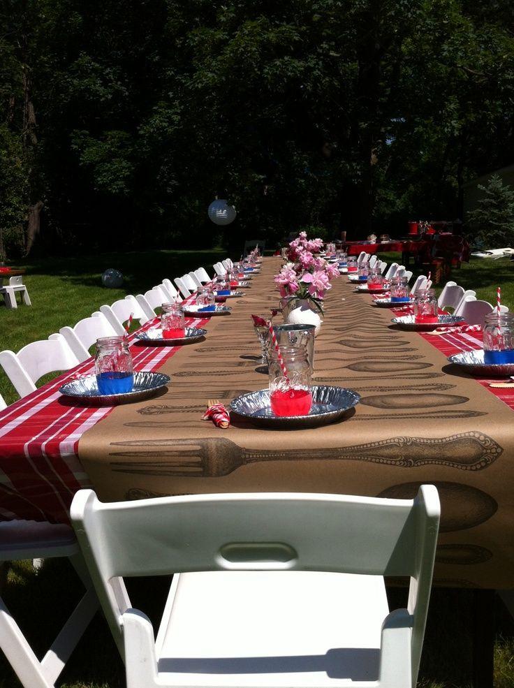 Shrimp Boil | Party Ideas. I Like The Tin Pie Plates