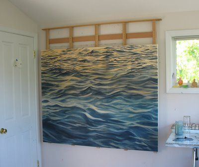 DIY Wall easel