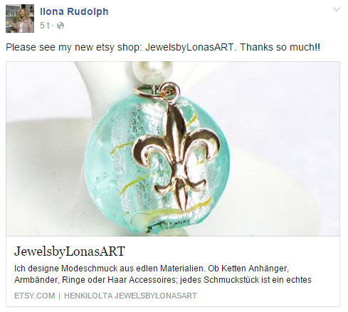 https://www.facebook.com/ilona.rudolph/posts/975882629173717