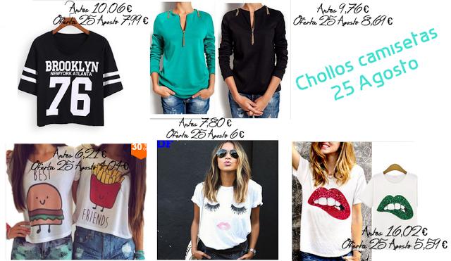 Camiseta blogger de aliexpress, blog belleza