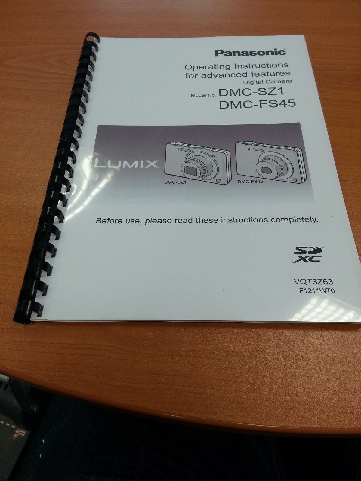 £4.19 GBP - Panasonic Lumix Dmc Sz1 Fs45 User Guide Instruction Manual  Printed 128 Pages A5 #ebay #Electronics