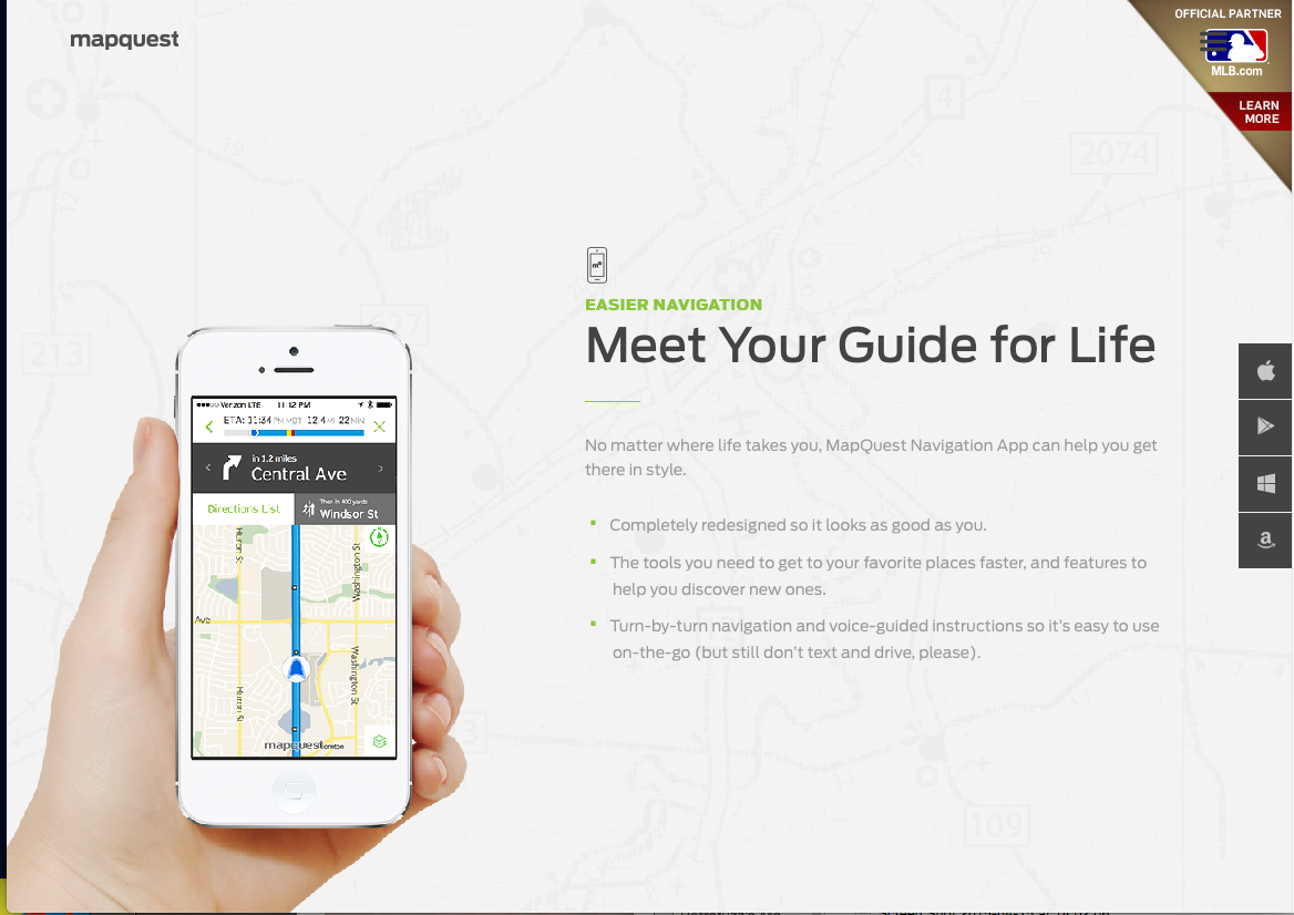 Map Quest Mobile http://mobile.mapquest.com/#get-together | #OHA ...
