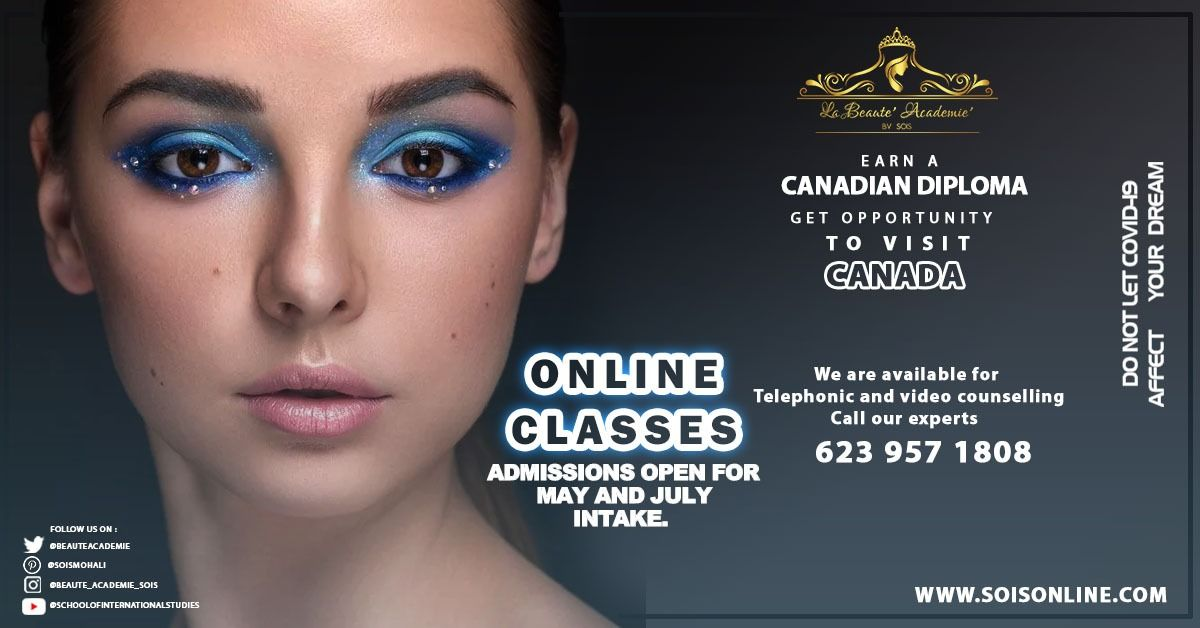 International Makeup Artist May And July 2020 Intake International Makeup Artist International Education Colleges And Universities