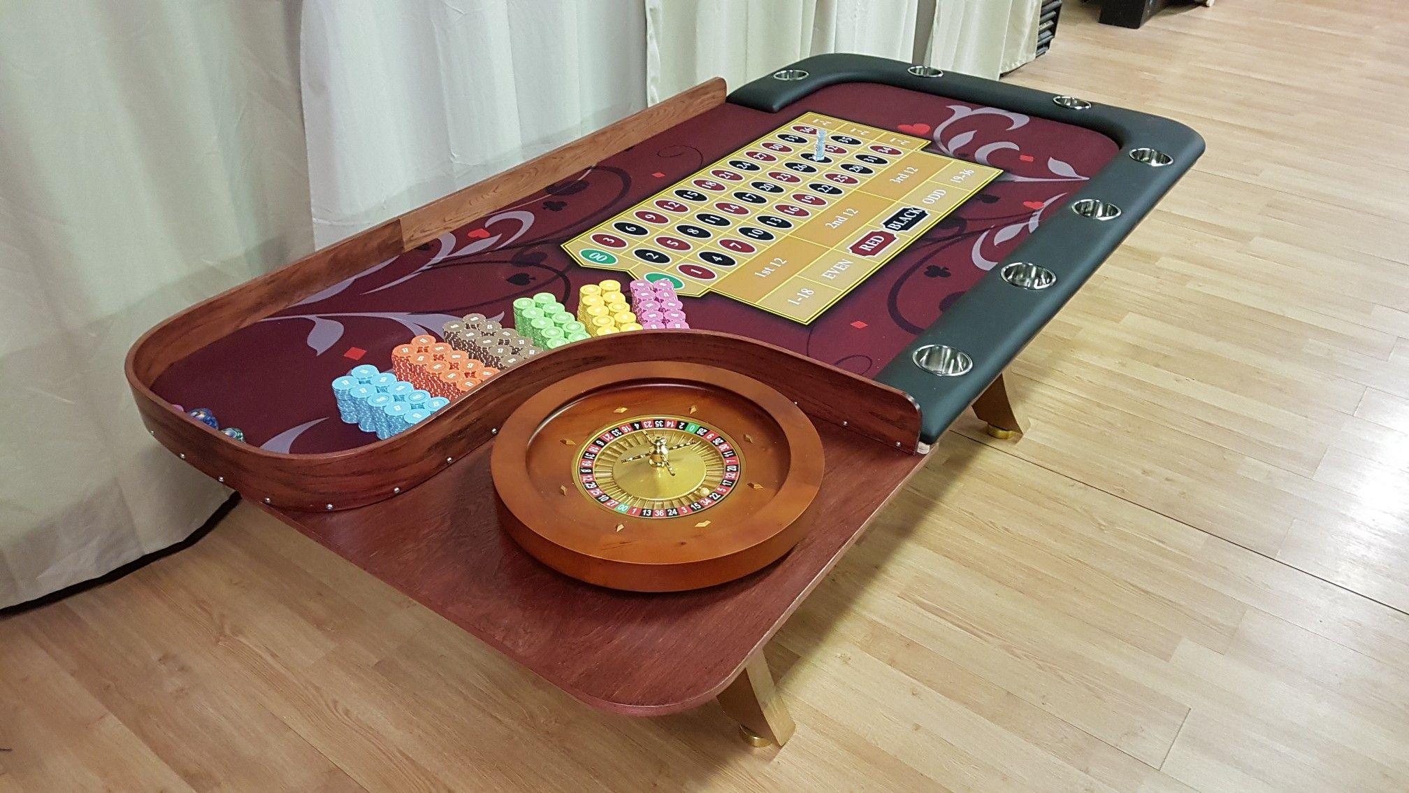 Custom Roulette Table Custom Poker Tables Poker Table Roulette Table