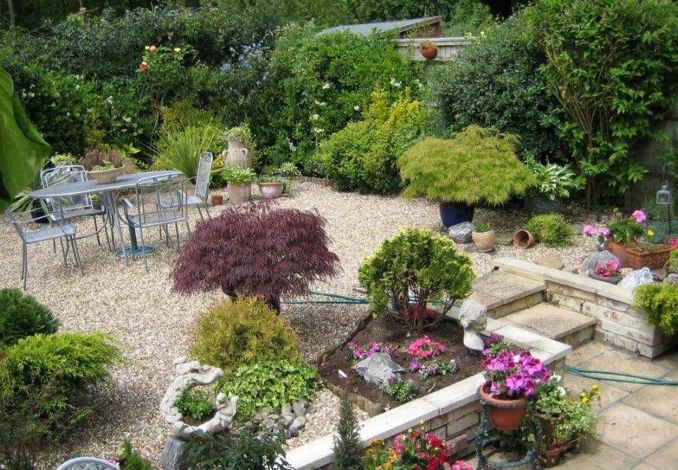 Garden And Lawn , Small Tuscan Garden Design Ideas : Small Tuscan ...