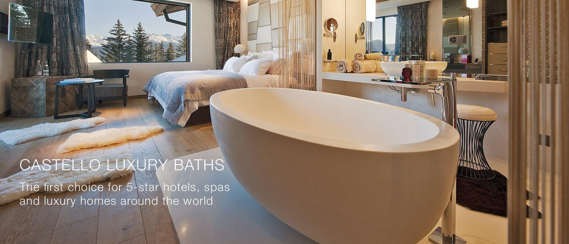 Luxury Freestanding Baths From Castello