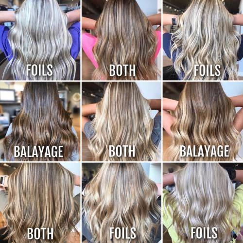 Foilyage Is Your Next Favorite Hair Color Technique   Fashion   Hair ...