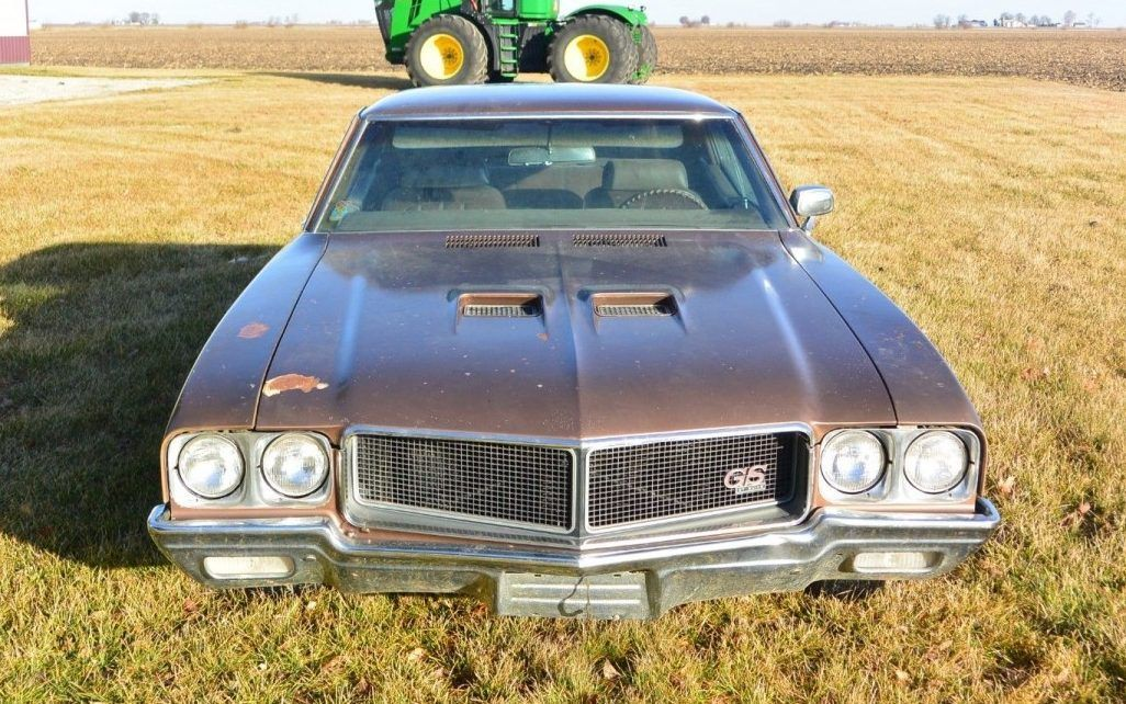 Farm Find 1970 Buick Gs 455 Stage 1 Buick Abandoned Cars Barn Finds