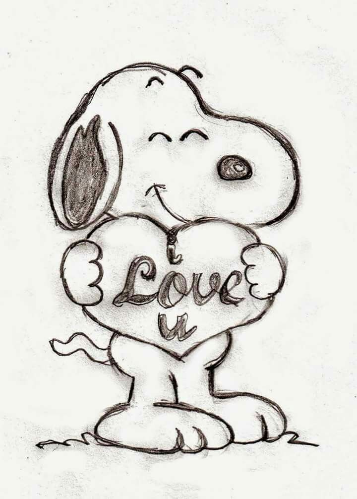 That S Cute Snoopy Drawing Snoopy Tattoo