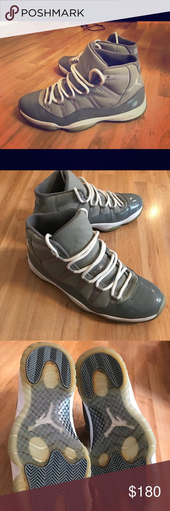 a9cf9999a7ec Jordan 11 Retro Cool Grey Good condition