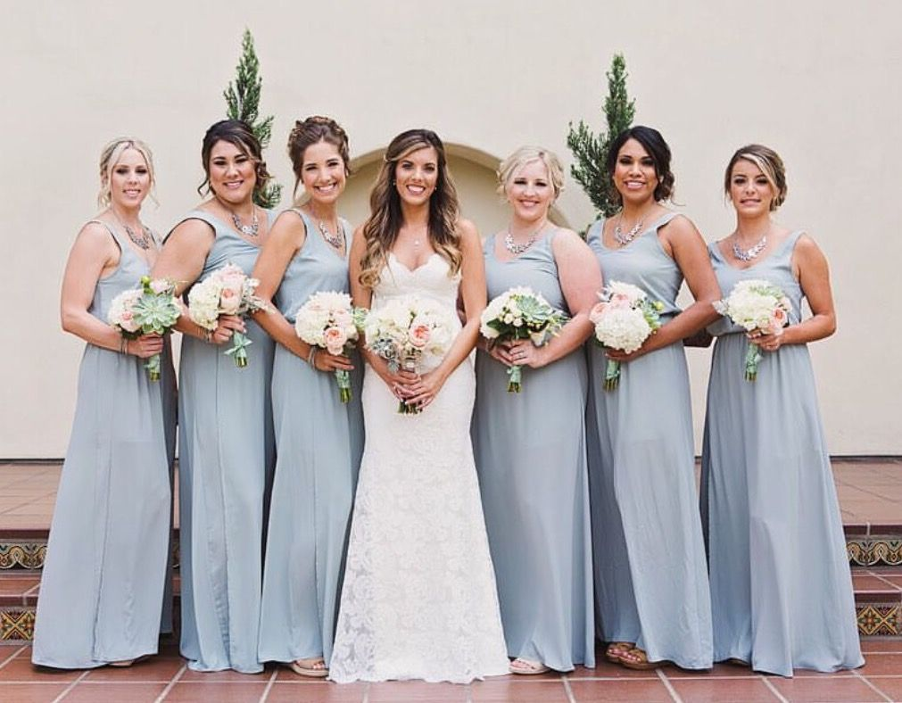 a29e8a0a76a Steel Blue Kendall Bridesmaid Dresses