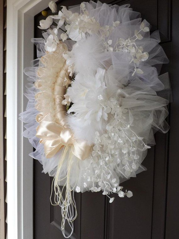 26 Quot Gorgeous Unique Handmade Wreath Wedding And Love