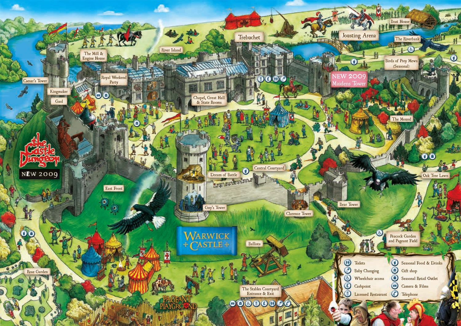 Warwick Castle Map Warwick Castle Map | Castles | Warwick castle, Castle, Castles in