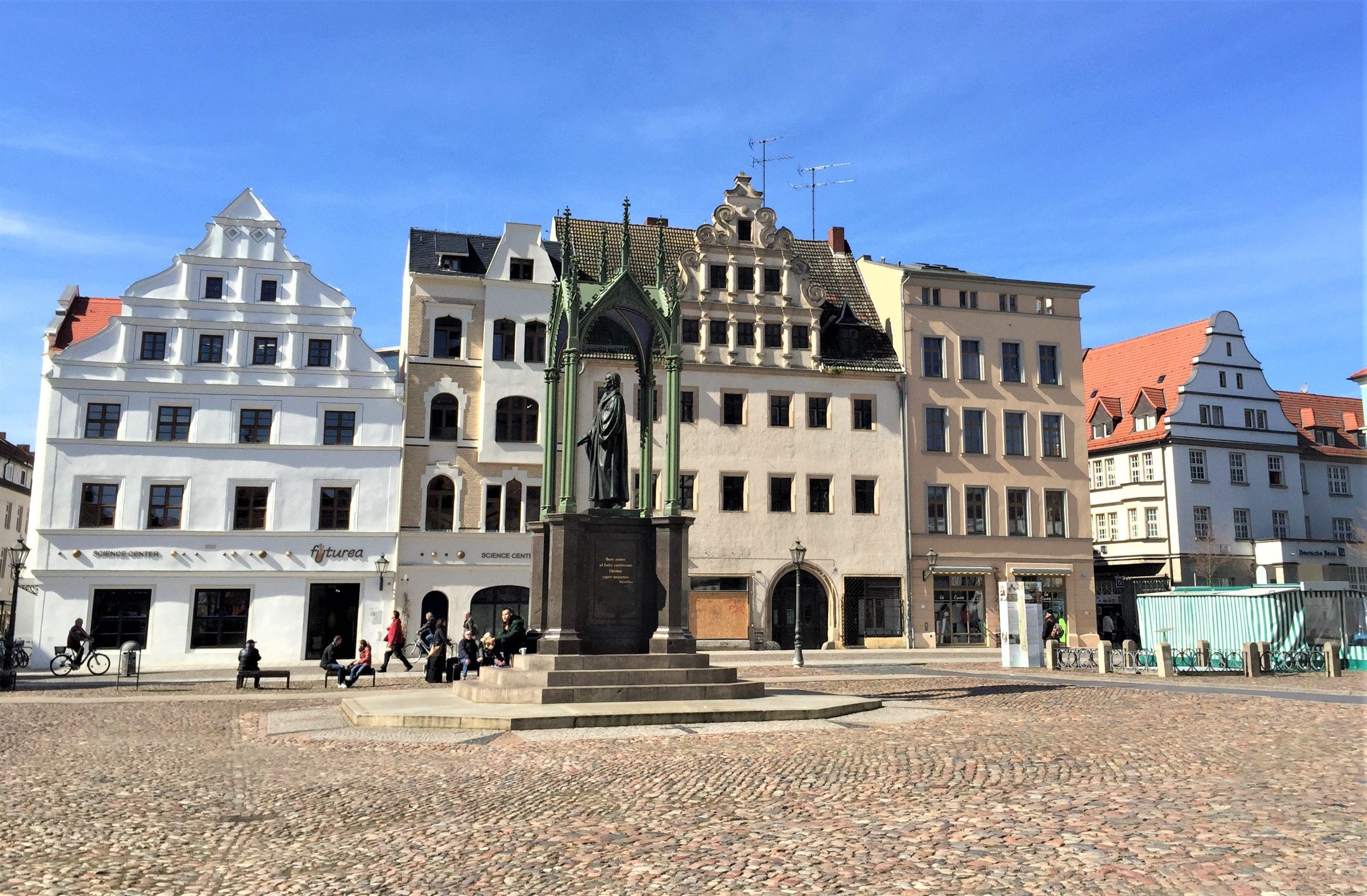 500 Jahre Reformation Zu Besuch In Der Lutherstadt Wittenberg Die Bunte Christine Besuchen Stadt Ausflug