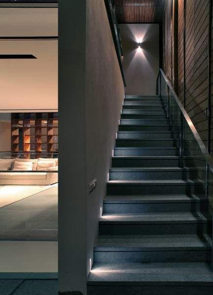 Pin de gloria muñiz en iluminacion escaleras Pinterest - lamparas para escaleras