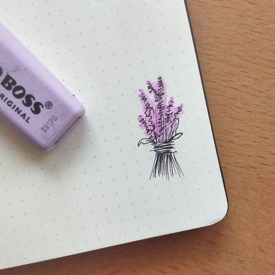 30 Ways to Draw Flowers #journaling