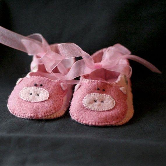 little piggy booties