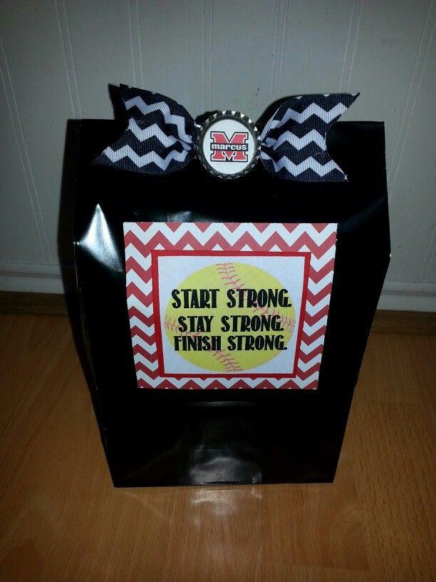 Softball Goody Bags Treats