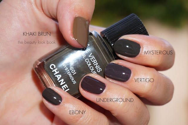 The Beauty Look Book: Chanel Mysterious 601 Le Vernis - Fall 2013