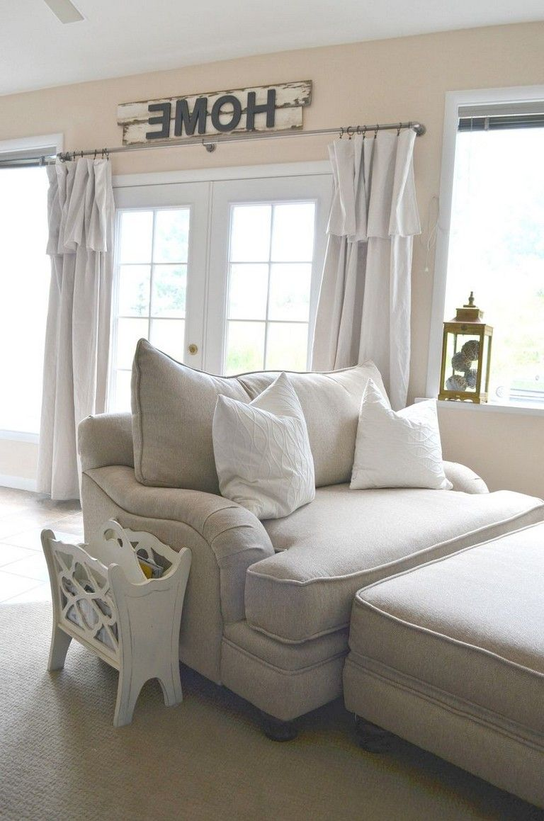 Window treatment ideas for 3 windows in a row   amazing farmhouse style decorations and interior design ideas