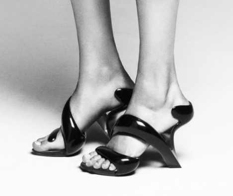 official photos f9844 6675f Mojito, An Elegant Pair of High Heels Made From a Single ...