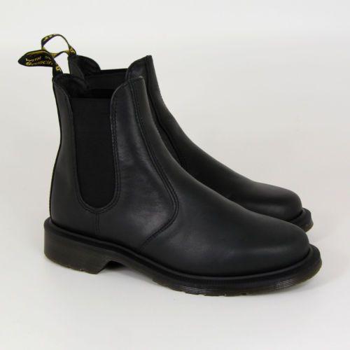 Dr Martens Laura   Boots, Black chelsea