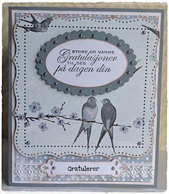 Velkommen inn: Årets første kort i 2012 ble et brettekort, nå med...