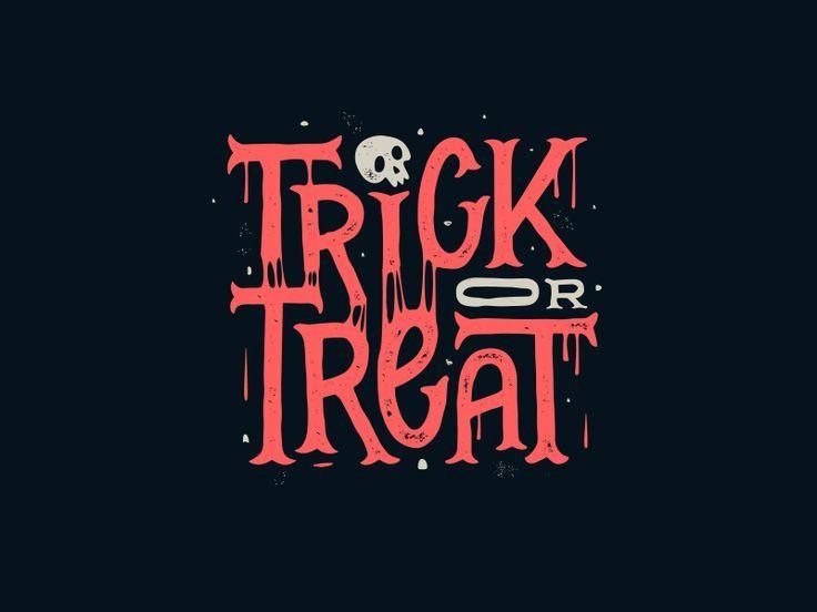 Trick or Treat | Halloween logo