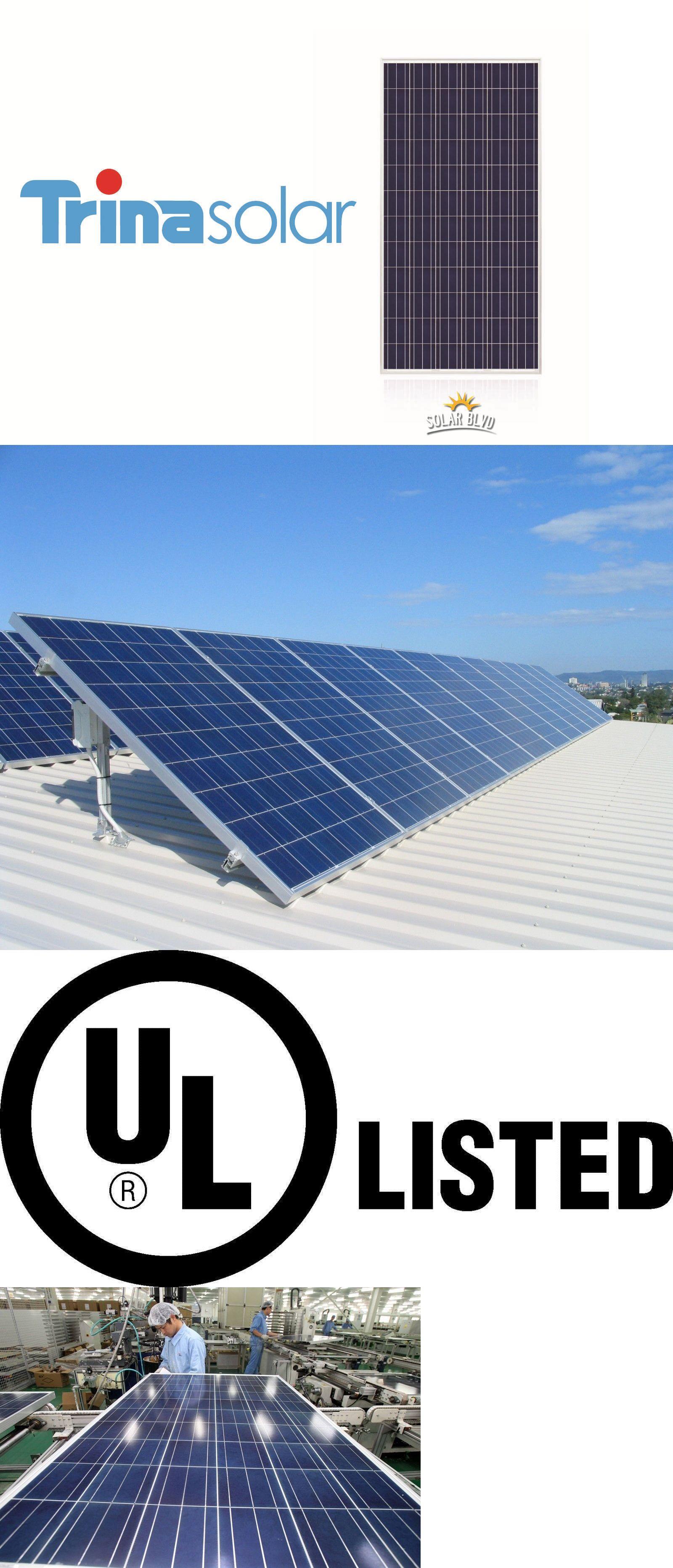 solar panels 41981 brand new trina solar 270 w watt 24v ul