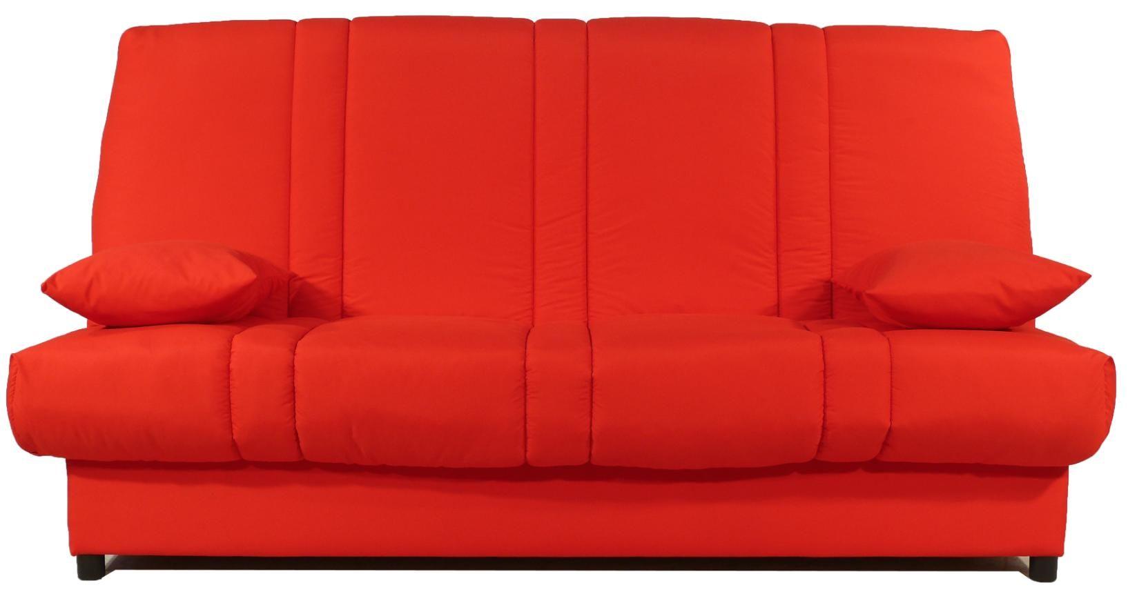 Clic Clac Rouge Matelas Sofalex 11 Cm Gaby En 2020 Matelas Tissu Rouge Coffre De Rangement