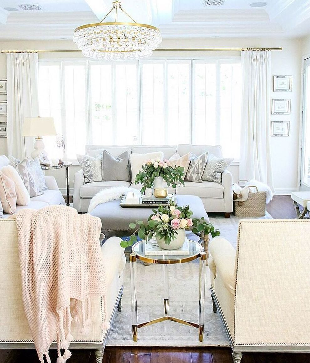 Incredible French Country Living Room Decorating Ideas (19 | French ...