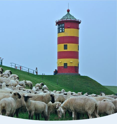 Unsere Dorfer Touristik Gmbh Krummhorn Greetsiel Leuchtturm