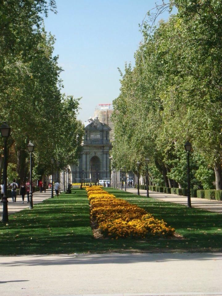 El Parque Retiro Madrid