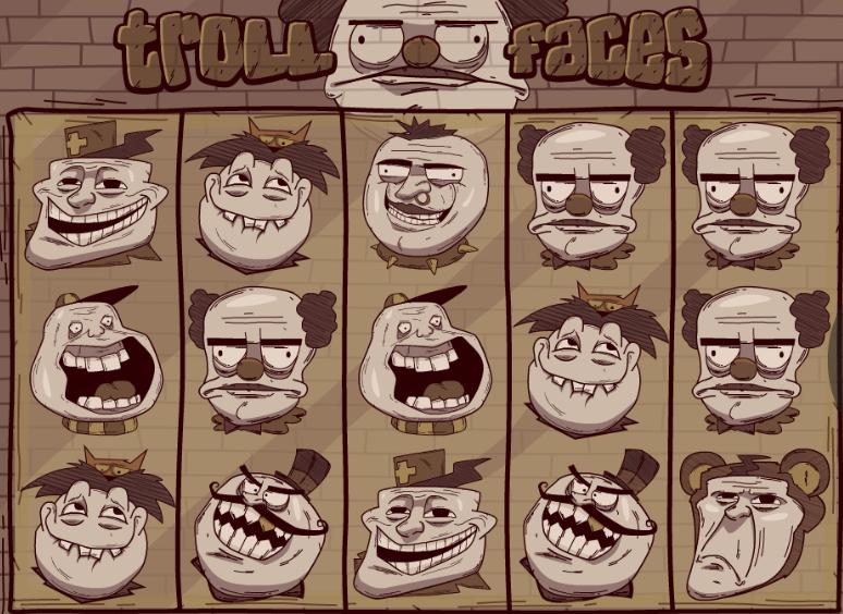 Troll Faces Slot Machine