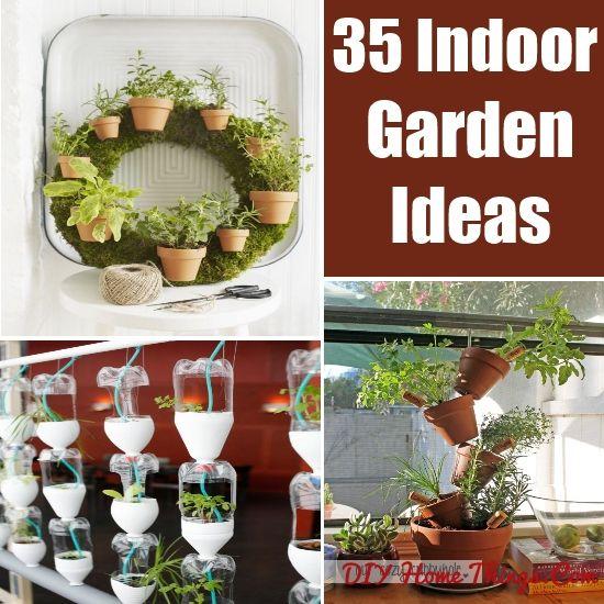 Tips For Indoor Gardening: 30 Amazing DIY Indoor Herb Garden Ideas