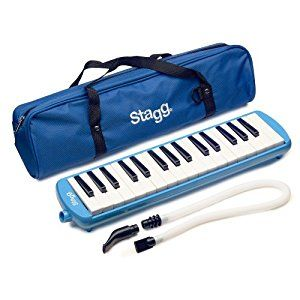 Stagg MELOSTA32BL 32 Note Melodica with Case - Blue: Amazon.co.uk: Musical Instruments