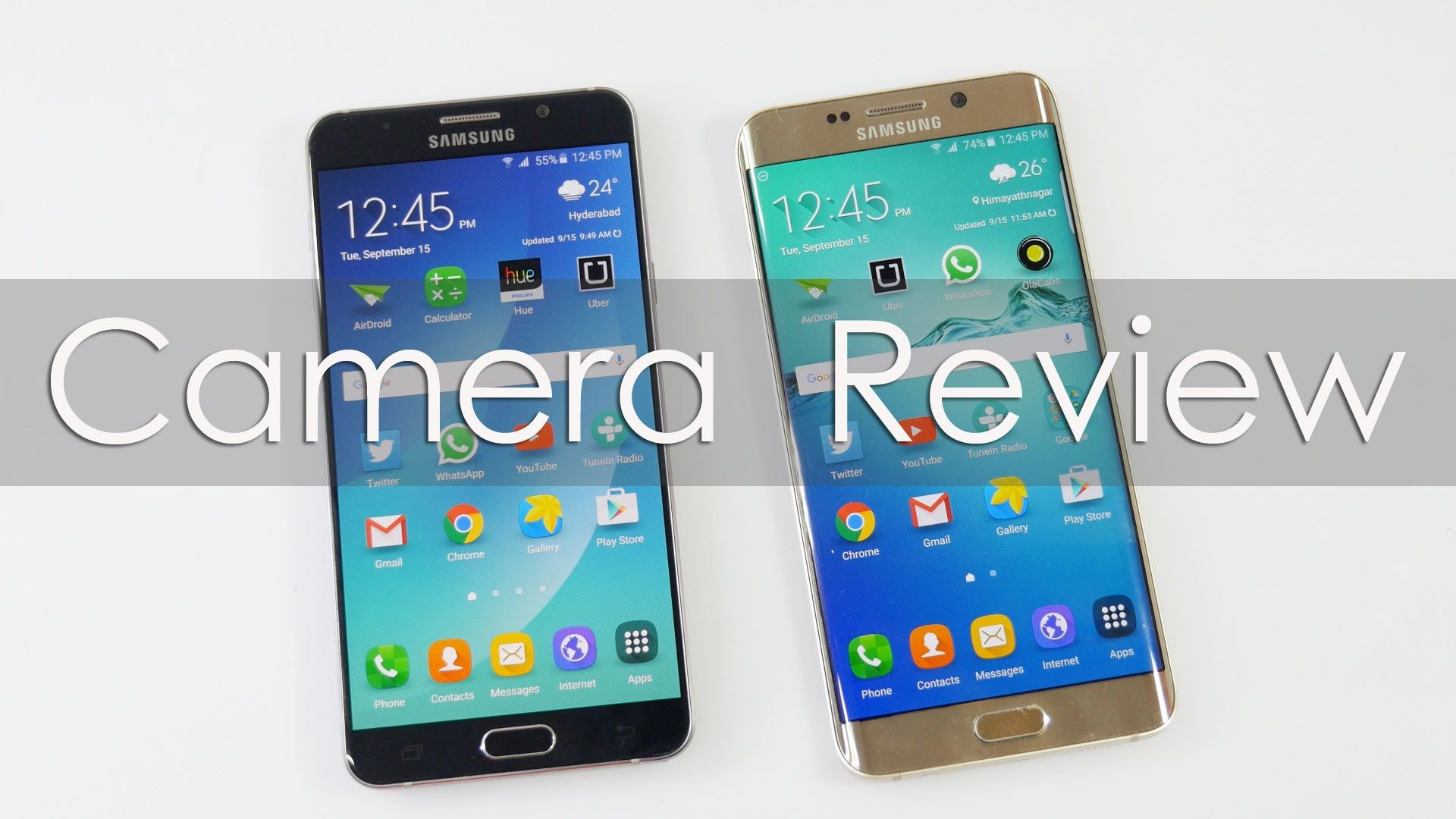 Samsung Galaxy Note 5 & S6 Edge Camera Review in 4K with Samples