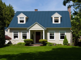 Best Blue Roof House Images On Blue Roof House Exterior 400 x 300