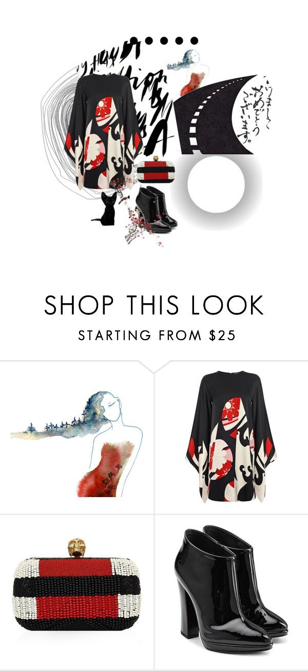 """""""Suzuki!"""" by confusgrk ❤ liked on Polyvore featuring Alexander McQueen, Giuseppe Zanotti, women's clothing, women, female, woman, misses and juniors"""