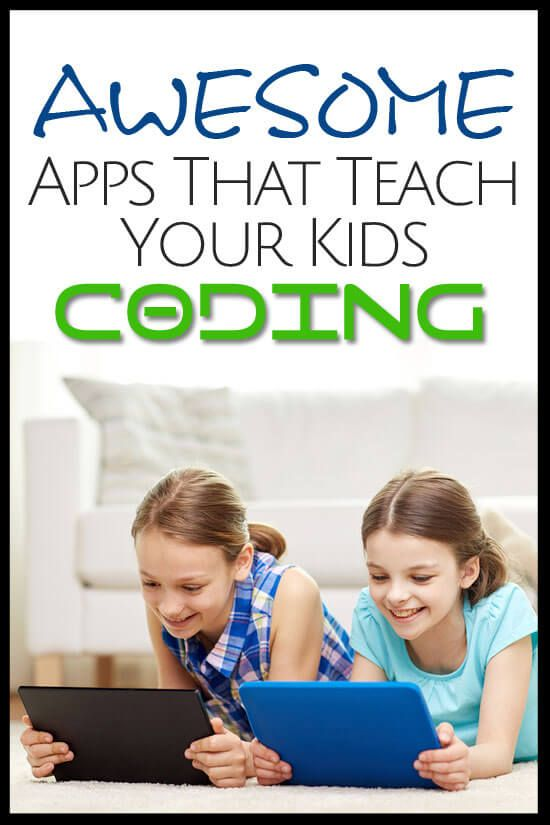 This collection of apps will help your kids learn how to code and