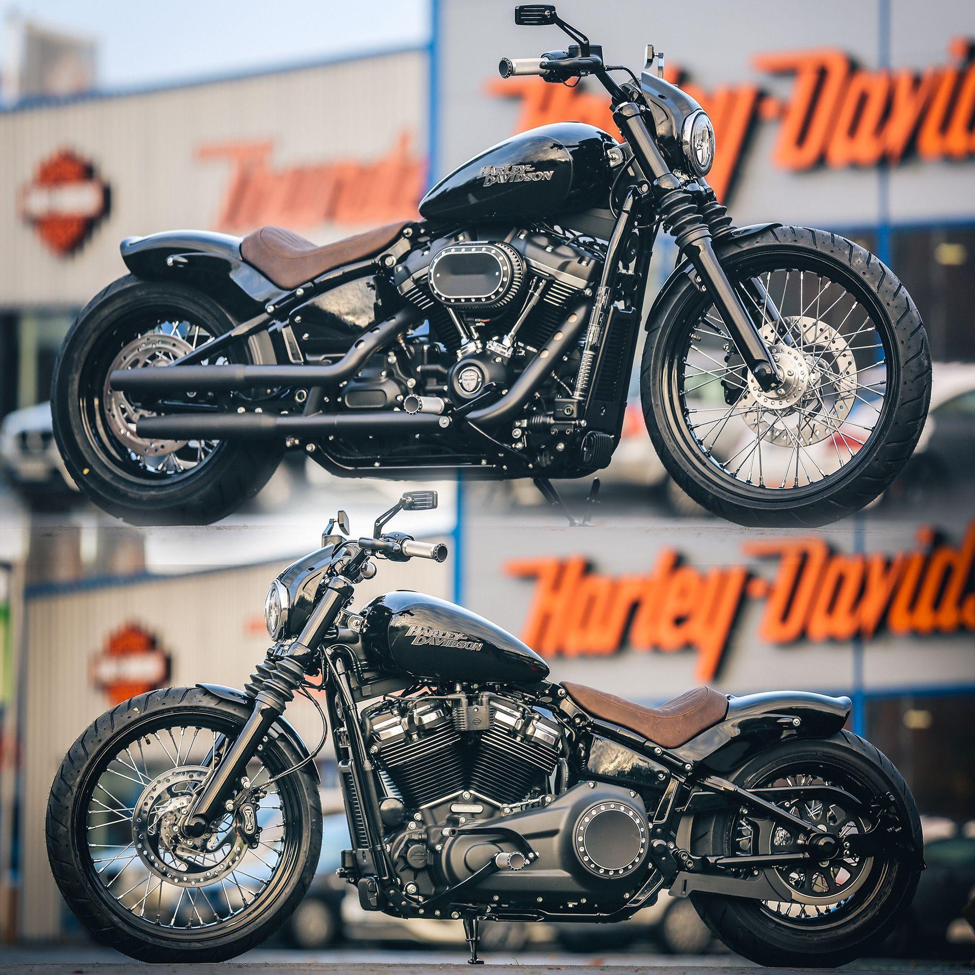 Thunderbike Shorty Customized Harley Davidson Softail Streetbob
