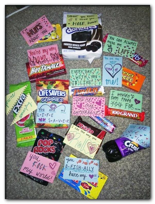 Candy  Presents for boyfriend  Wedding Candles Ideas
