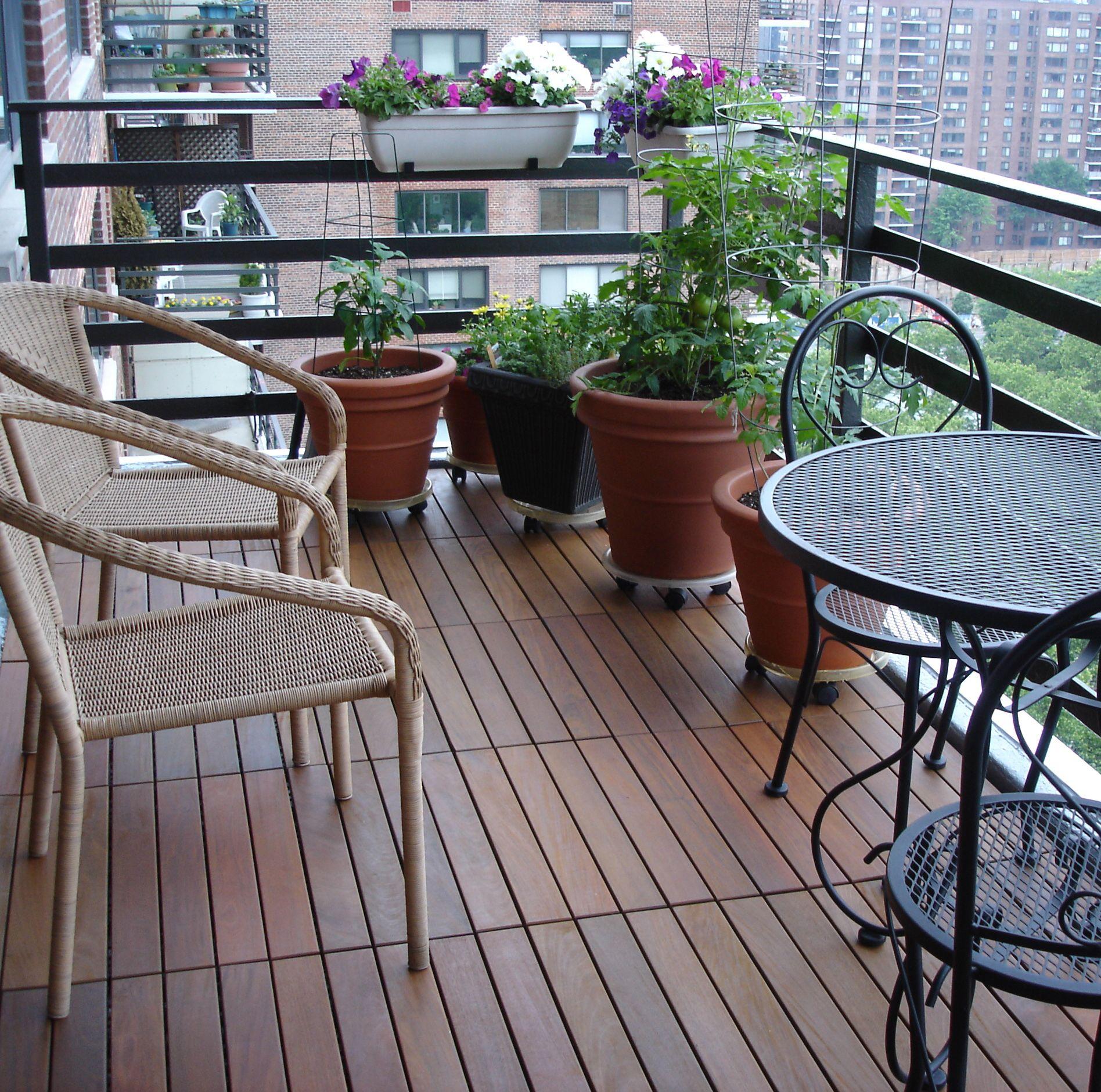 Swiftdeck Ipe Wood Interlocking Tiles Liven Up Your