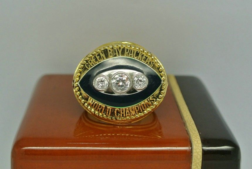 Custom 1967 packers ii championship ring with images